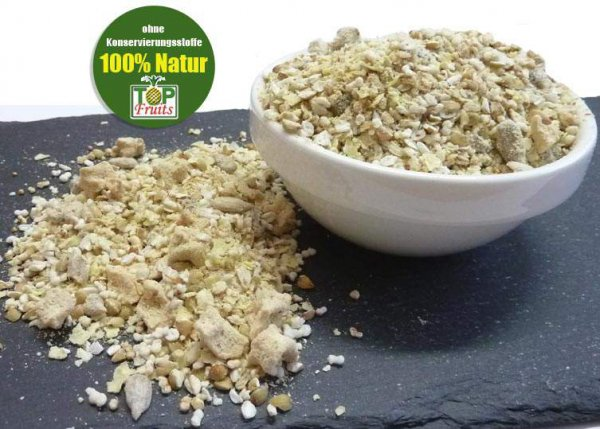 Glutenfreies Vital-Müsli bio kbA, mit 30% Frucht, ohne Nuss, ungesüsst